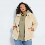 Макси номер дамско палто с две лица
