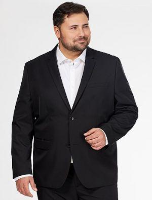 Мъжко черно сако голям размер