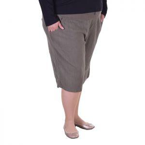 Голям размер дамски къси панталони