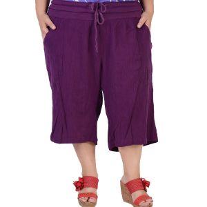 Макси размер дамски къси панталони