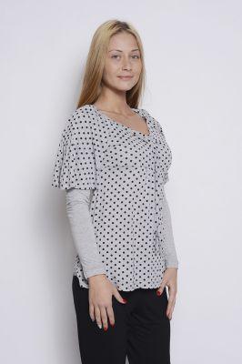 Дамска блуза от две части