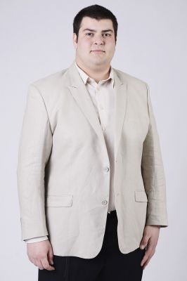 Голям размер мъжко сако