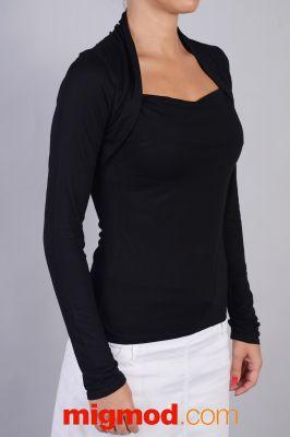 Черна дамска блуза