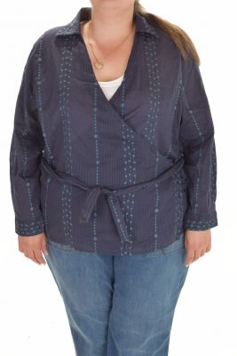 Дамска риза/жилетка макси размер