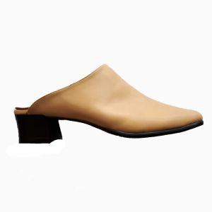 Дамски обувки-сабо голям номер