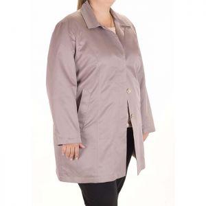 Елегантен дамски шлифер макси размер