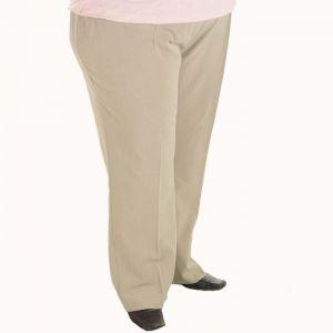 Дамски панталон с еластичен колан макси номер