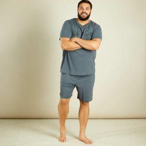 Мъжка пижама голям размер