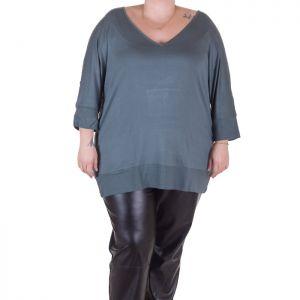 Дамски блузон макси размер
