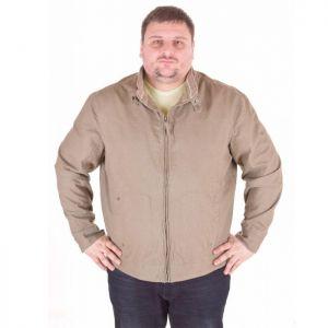 Голям размер мъжко ленено яке