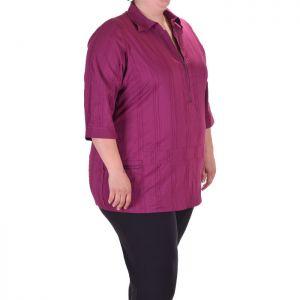 Макси размер дамска спортно елегантна риза
