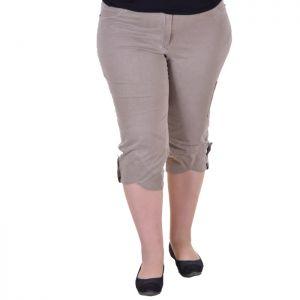 Елегантен дамски панталон макси размер