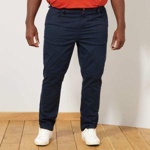 Голям размер спортно-елегантен мъжки панталон