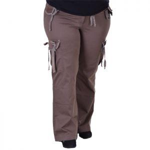 Спортно елегантен дамски панталон макси размер