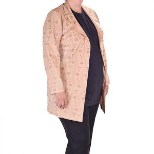 Елегантно дамско сако голям размер