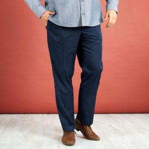 Голям размер мъжки официален панталон