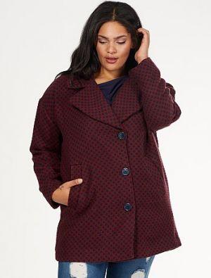 Голям рзмер дамско палто