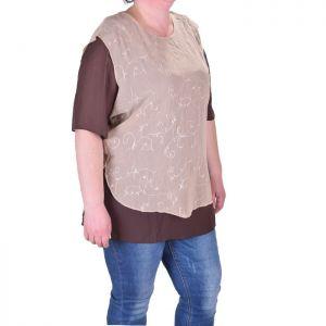 Гоялм размер дамска блуза скъс ръкав