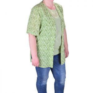 Ефирно дамско сако макси размер