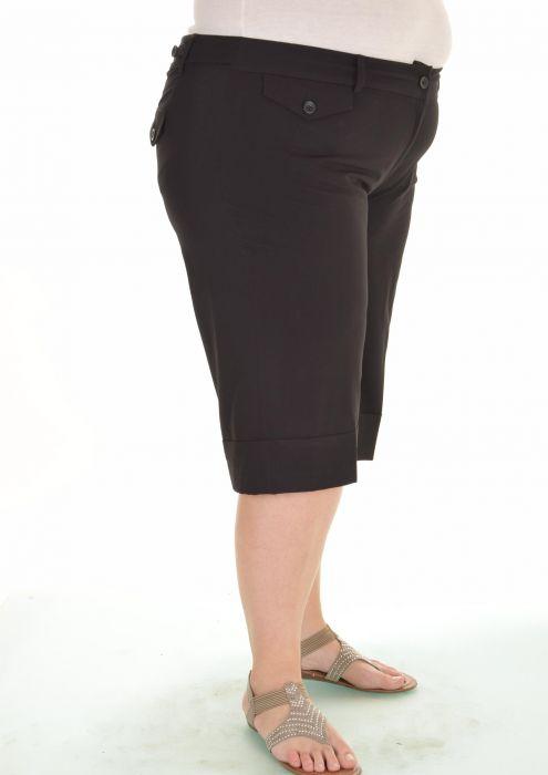 8fa7fba2a6f Черни дамски панталони големи размери
