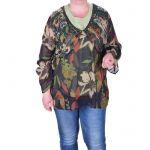 Официална дамска блуза макси размер