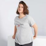 Голям размер дамска тениска