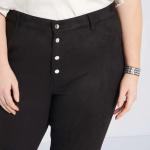 Панталон от еко велур макси размер
