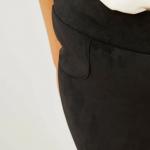 Велурен панталон тип клин макси размер