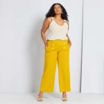 Широк панталон с копчета макси размер